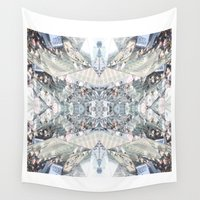 shopping Wall Tapestries featuring shopping by ONEDAY+GRAPHIC
