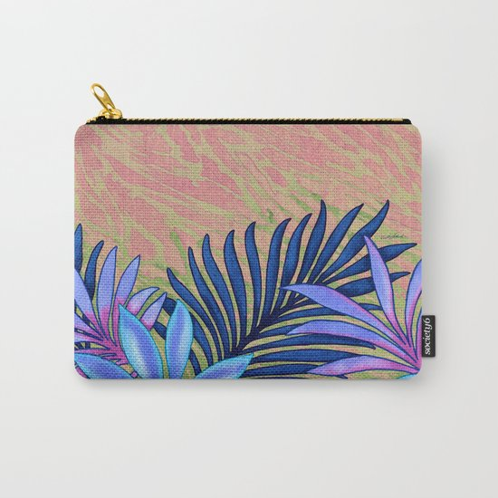 A Run Through the Jungle Blues Carry-All Pouch