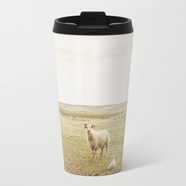 Farm Photography of Sheep Travel Mug