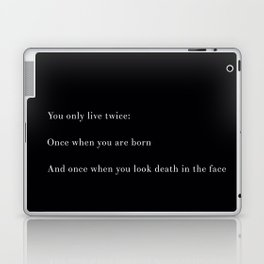 You Only Live Twice Laptop & iPad Skin