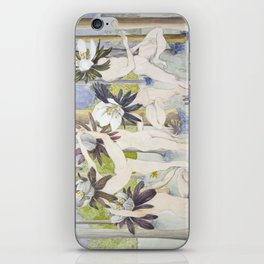 Dance of the Winter Aconite iPhone Skin