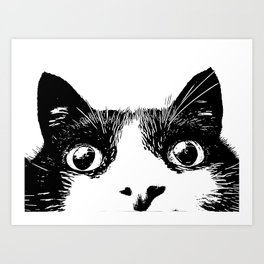 pussycat Art Print
