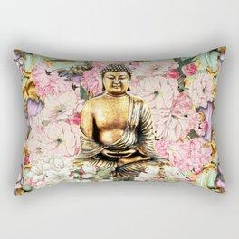Tranquil Buddha Rectangular Pillow