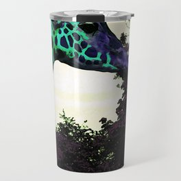 Alien Giraffe Has Landed Travel Mug