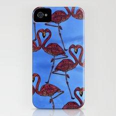 Flamingos iPhone (4, 4s) Slim Case