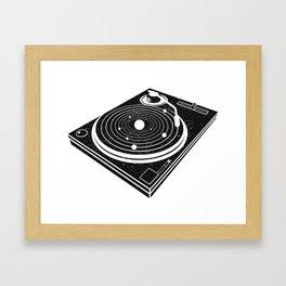Music of the Spheres Framed Art Print