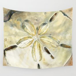 Dollar in the Sand Wall Tapestry