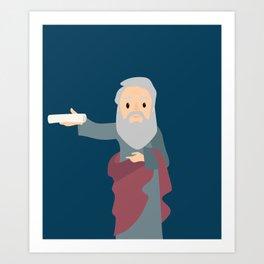 Saint Bartholomew Feast Day Art Print