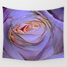 Violet rose Wall Tapestry
