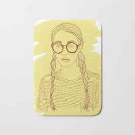 Ms Sunshine Bath Mat