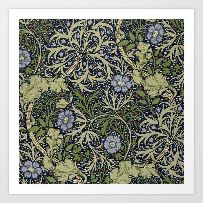 William Morris Seaweed Pattern Kunstdrucke