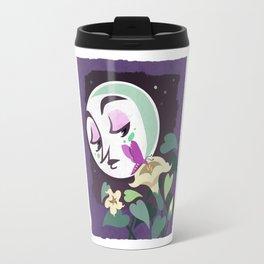 The Moth and Moon Travel Mug
