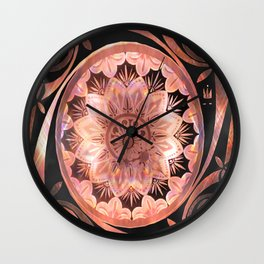 A Penny For Your Thoughts Mandala Wall Clock