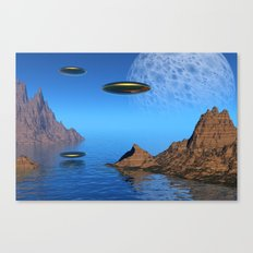 It's a Great Day For Flying Canvas Print