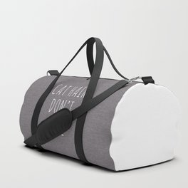 Cat Hair Funny Quote Duffle Bag