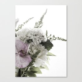 for the love of flowers 1 Canvas Print