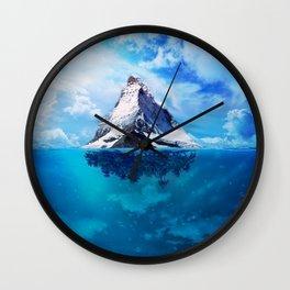 Mystic Haven Wall Clock