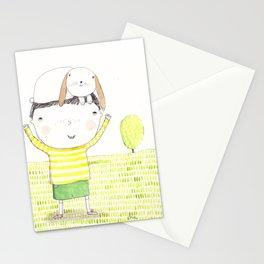 Jacko and Bunbun Stationery Cards