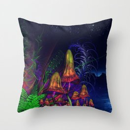 Happy Birthday Terence Mckenna Throw Pillow