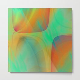 Multicolored abstract 2016 / 001 Metal Print