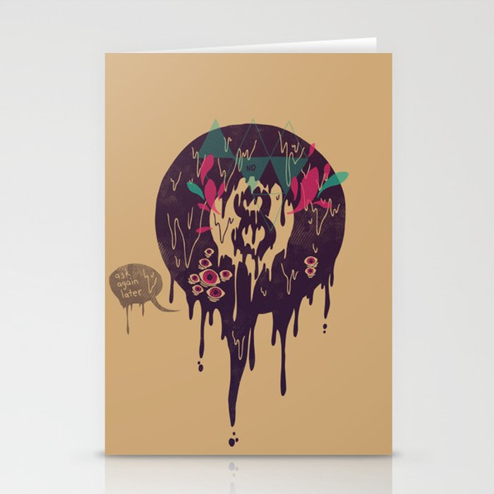 Bad Omen Stationery Cards