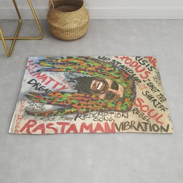 lyrics,songs,reggae,dancehall,roots,fan art,rasta,weed,love Rug
