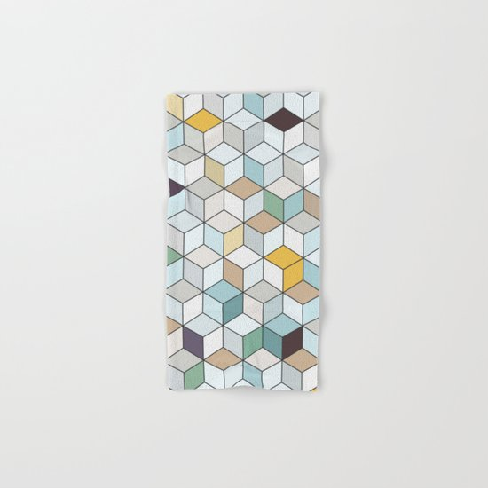 Cubed II Hand & Bath Towel
