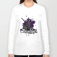 cleveland Long Sleeve T-shirts featuring Cleveland LOve by Nijome