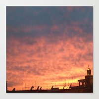 morrocan Canvas Prints featuring Marrakesh Magic by Suki Sabur