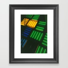 Crosshatch Framed Art Print