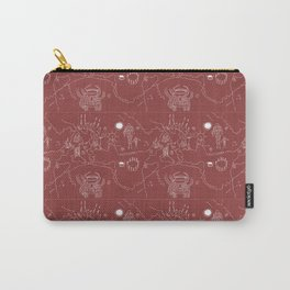 Twin Peaks Owl Cave Petroglyph Map Carry-All Pouch