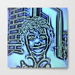 Neon-portrait Metal Print