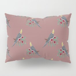 Normal Grey Cockatiel Pillow Sham