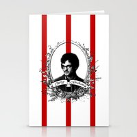 will graham Stationery Cards featuring Will Graham by JM London
