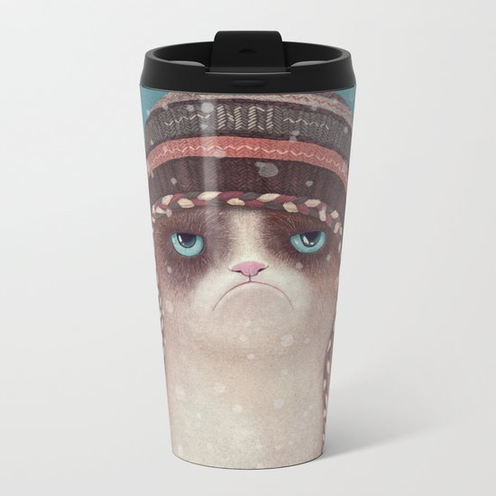 Under snow Metal Travel Mug