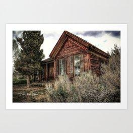Forgotten House Art Print
