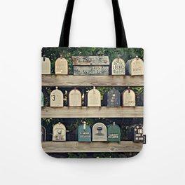 Mailboxes Tote Bag