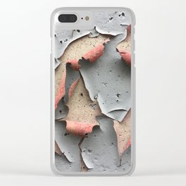 The Pink Underside Clear iPhone Case