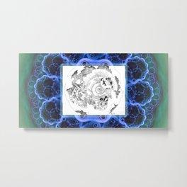 Shells of the Time Metal Print