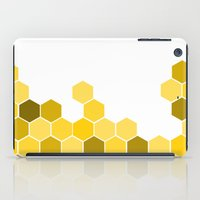 honeycomb iPad Cases featuring Honeycomb by KelC
