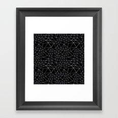 Segment Framed Art Print