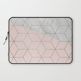 Florence dreams - marble geometric Laptop Sleeve
