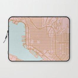 San Diego map Laptop Sleeve