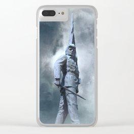 Civil War Soldier - Union Clear iPhone Case