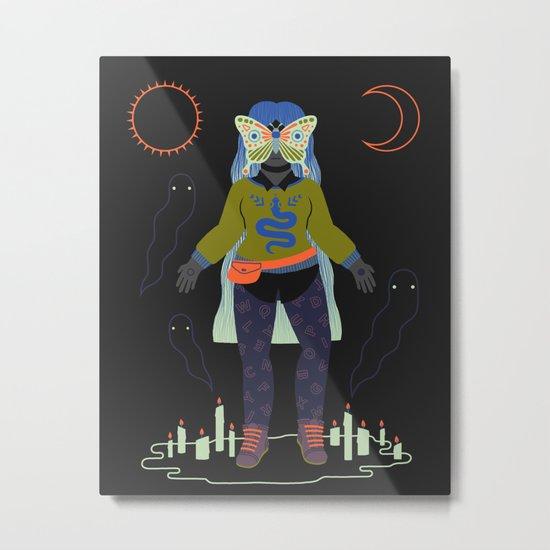 Witch Series: Seance Metal Print
