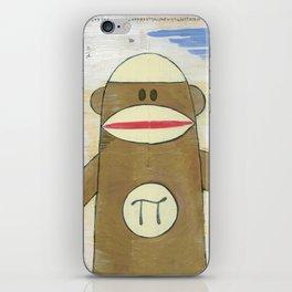 Sock Monkey 270: Pi Monkey and Infinity Owl iPhone Skin