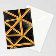 geo galaxy Stationery Cards