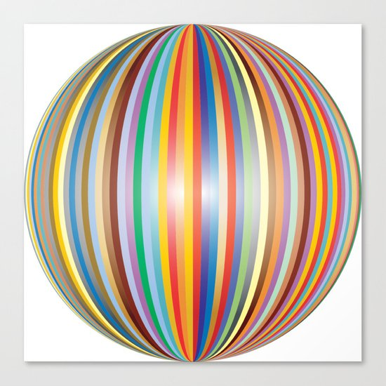 Color prisme Canvas Print