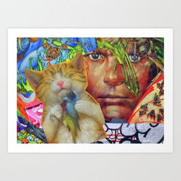 Leader of the Lost Boys  Art Print