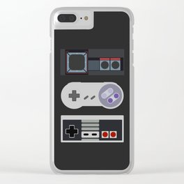 Power Trio Clear iPhone Case